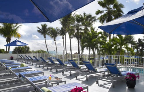 Four Points Sheraton Oceanfront Miami Beach pool