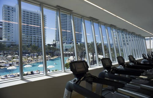 Fontainebleau Beachfront Resort Miami Beach fitness center