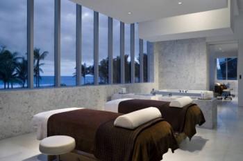 Fontainebleau Beachfront Resort Miami Beach world famous spa