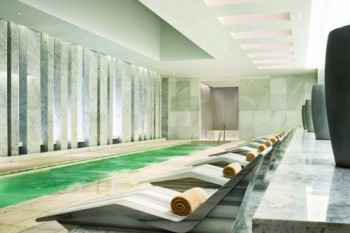 Fontainebleau Beachfront Resort Miami Beach world famous spa