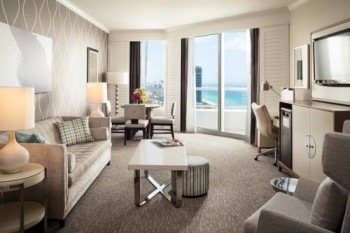 Fontainebleau Beachfront Resort Miami Beach Balcony suites with ocean views