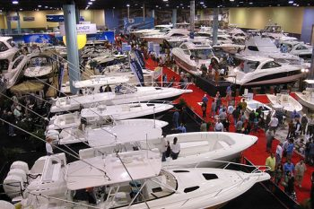 miami beach convention center Boat Show Overview